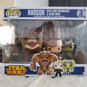Large 3 pack Star wars Funko Pop